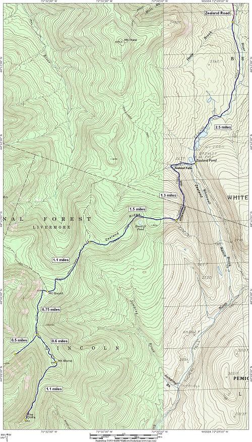 Zealand Notch, Mount Guyot, Mound Bond, Bondcliff and West ... on germany trail map, turkey trail map, bristol trail map, mexico trail map, galehead trail map, victoria trail map, fredericton trail map, nelson trail map, jamaica trail map, peru trail map, tobago trail map, jefferson trail map, ethan pond trail map, flume trail map, china trail map, austria trail map, franconia ridge trail map, liberty trail map,