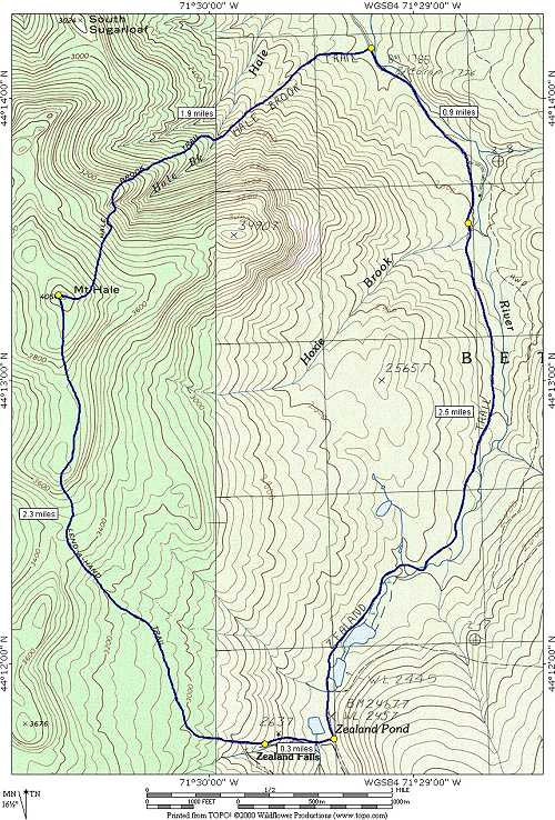Mount Hale and Zealand Falls via Hale Brook, Lend-A-Hand and ... on germany trail map, turkey trail map, bristol trail map, mexico trail map, galehead trail map, victoria trail map, fredericton trail map, nelson trail map, jamaica trail map, peru trail map, tobago trail map, jefferson trail map, ethan pond trail map, flume trail map, china trail map, austria trail map, franconia ridge trail map, liberty trail map,